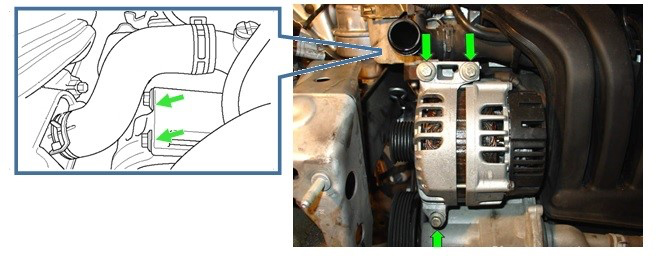 MINI alternator failure due to fluid ingress - Tech Tips