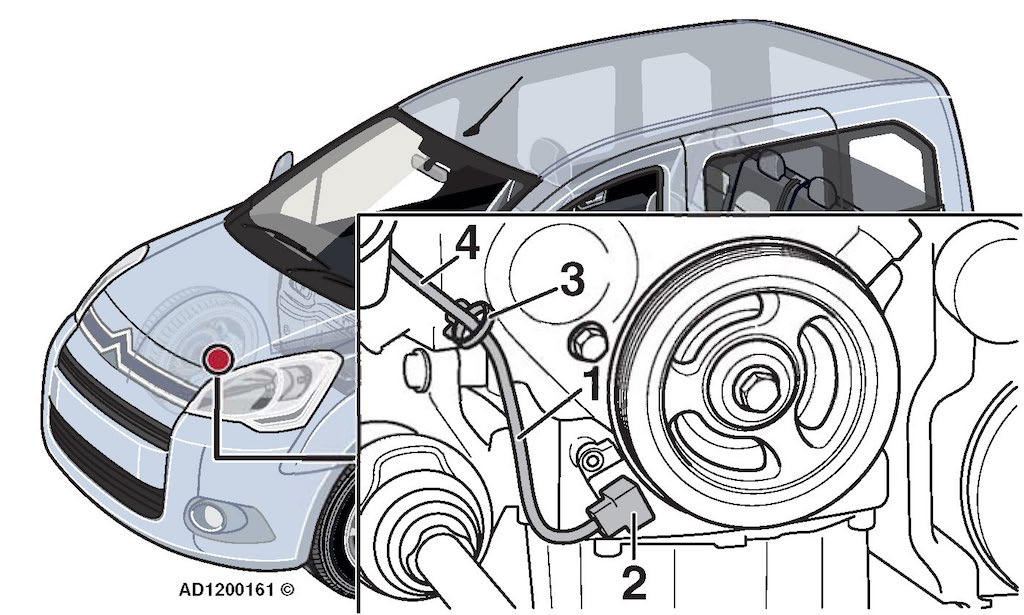 citroen berlingo iii  engine stalls  difficult to restart